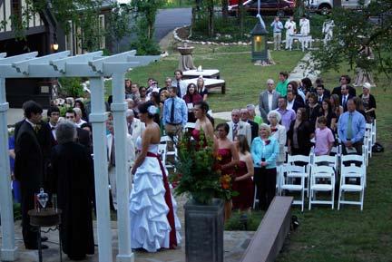 outdoor weddings hot springs wedding ministry