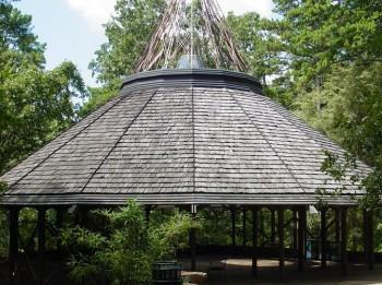Pavilion at Garvin Woodland Gardens